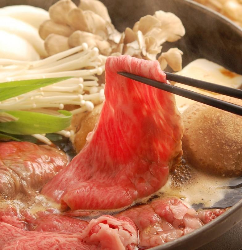 すき焼き調理イメージ