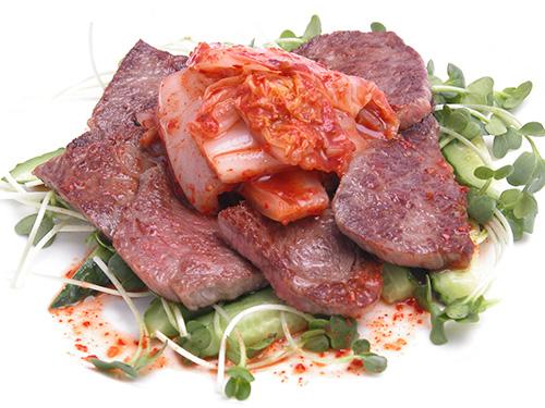 焼肉サラダキムチソース