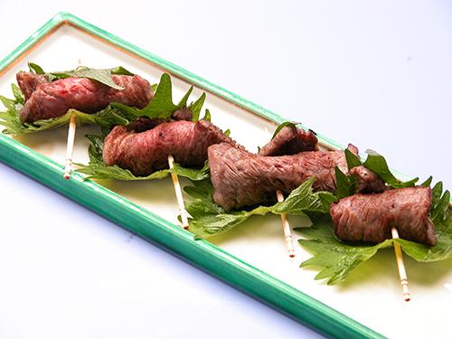 香味野菜巻き