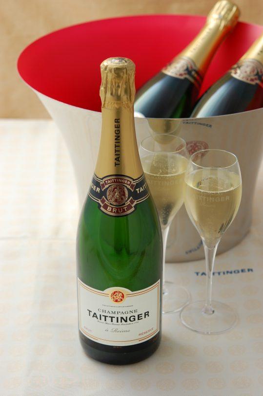 12月シャンパン・テタンジェ